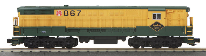 "MTH 30-20093-3 - FM Train Master Diesel Engine ""Reading"" (Non-Powered)"