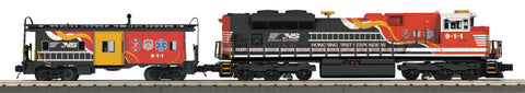 "MTH 30-20361-1 - SD70ACe Imperial Diesel & Caboose Set ""Norfolk Southern"" w/ PS3"