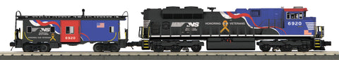 "MTH 30-20362-1 - SD70ACe Imperial Diesel & Caboose Set ""Norfolk Southern"" w/ PS3"