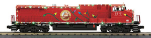 "MTH 30-20436-1 - Dash-8 Diesel Engine ""Christmas"" w/ PS3 & LED Lights"