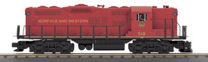 "MTH 30-20540-1 - GP-7 Diesel Engine ""Norfolk & Western"" w/ PS3"
