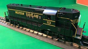 "MTH 30-20543-1 - GP-7 Diesel Engine ""Western Maryland"" w/ PS3"