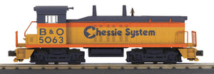 "MTH 30-20562-1 - NW-2 Switcher Diesel Engine ""Chessie"" w/ PS3"