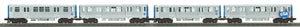 "MTH 30-20576-1 - 3200 Series Subway Set ""Chicago Transit Authority"" w/ PS3 (4-Car)"