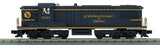 "MTH 30-20589-1 - AS-616 Diesel Engine ""Chesapeake & Ohio"" w/ PS3"