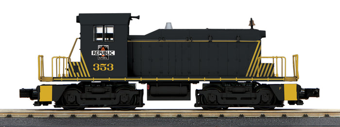 "MTH 30-20598-1 - SW-1 Switcher Diesel Engine ""Republic Steel"" #353 w/ PS3"