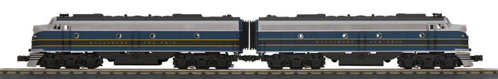 "MTH 30-20622-1 - E-8 AA Diesel Engine Set ""Baltimore & Ohio"" w/ PS3"