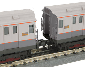 "MTH 30-20624-1 - R-12 Subway Set ""Metropolitan Transportation Authority"" w/ PS3 (4-Car)"