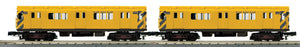 MTH 30-20627-3 Metropolitan Transportation Authority R-12 2-Car Subway Add-On Non Powered Set