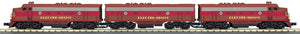 "MTH 30-20628-1 - F-3 ABA Diesel Engine Set ""EMD Demonstrator"" w/ PS3"