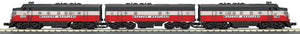 "MTH 30-20629-1 - F-3 ABA Diesel Engine Set ""Western Maryland"" w/ PS3"