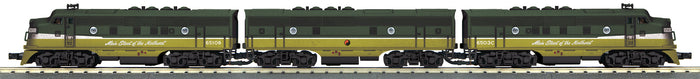 "MTH 30-20630-1 - F-3 ABA Diesel Engine Set ""Northern Pacific"" w/ PS3"