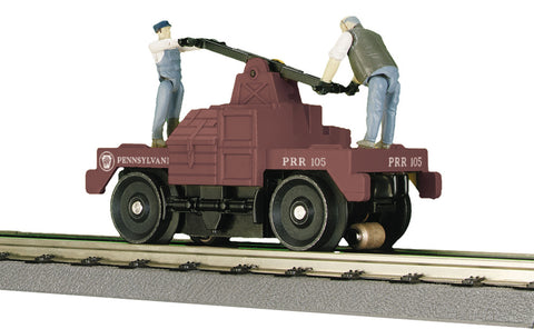 "MTH 30-2574 - Operating Hand Car ""Pennsylvania"""