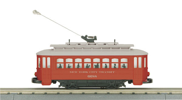 "MTH 30-2596 - Bump-n-Go Trolley ""New York Transit"""