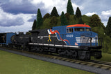 "MTH 30-4240-1 - Dash-8 Diesel R-T-R Freight Train Set ""Norfolk Southern - Veterans"" w/ PS3"