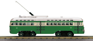 "MTH 30-5166-1 -  PCC Electric Street Car ""Illinois Terminal"" w/ PS3"