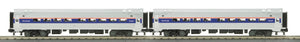 "MTH 30-6530 - O-31 Amfleet Coach Set ""Amtrak"" (2-Car)"