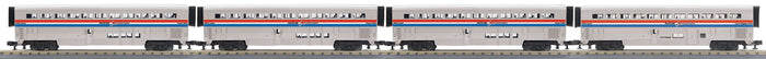 MTH 30-6535 Amtrak 4-Car O-31 SuperLiner Set