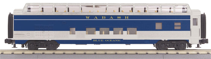 "MTH 30-67890 - 60' Streamlined Full-Length Vista Dome Car ""Wabash"""