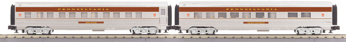"MTH 30-67902 - 60' Streamlined Sleeper/Diner ""Pennsylvania"" (2-Car)"