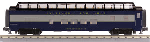 "MTH 30-67964 - 60' Streamlined Full-Length Vista Dome Car ""Baltimore & Ohio"""