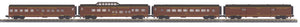"MTH 30-67965 - 60' Streamlined Passenger Set ""Norfolk & Western"" (4-Car)"