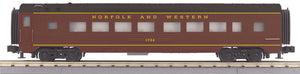"MTH 30-67967 - 60' Streamlined Coach Car ""Norfolk & Western"""