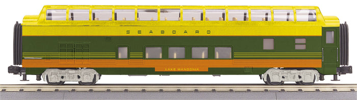 "MTH 30-68011 - 60' Streamlined Full-Length Vista Dome Car ""Seaboard"""