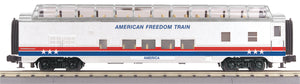 "MTH 30-68049 - 60' Streamlined Full-Length Vista Dome Car ""American Freedom"""
