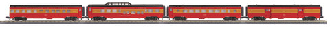 "MTH 30-68070 - 60' Streamlined Passenger Set ""Southern Pacific Lines"" (4-Car)"