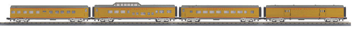 "MTH 30-68110 - 60' Streamlined Passenger Set ""Union Pacific"" (4-Car)"