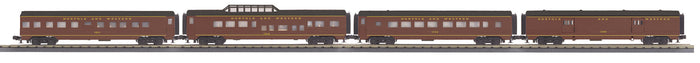 "MTH 30-68114 - 60' Streamlined Passenger Set ""Norfolk & Western"" (4-Car)"