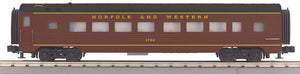 MTH 30-68116 Norfolk & Western 60' Streamlined Coach Car