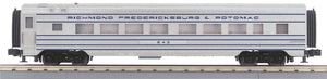 MTH 30-68120 Richmond, Fredericksburg & Potomac 60' Streamlined Coach Car