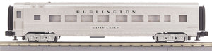"MTH 30-68227 - 60' Streamlined Coach Car ""Burlington"" (Plated)"