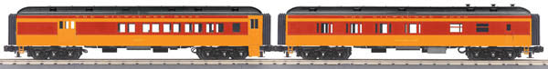 "MTH 30-69198 - 60' Madison Combo/Diner Set ""Milwaukee Road"" (2-Car)"