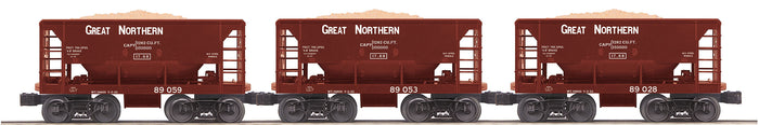 "MTH 30-7091 - Ore Car Set ""Great Northern"" (3-Car)"