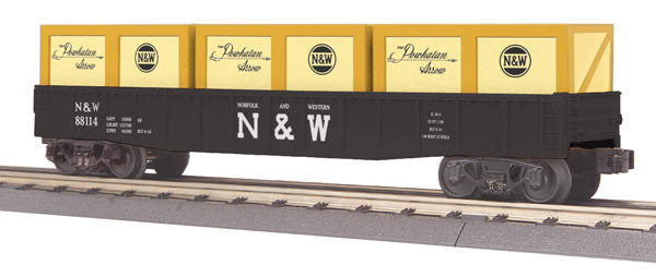 "MTH 30-72137 - Gondola Car ""Norfolk & Western"" w/ Crates"