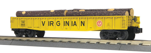 "MTH 30-72149 - Gondola Car ""Virginian"" w/ Log Load"