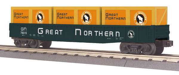 "MTH 30-72152 - Gondola Car ""Great Northern"" w/ Crates"