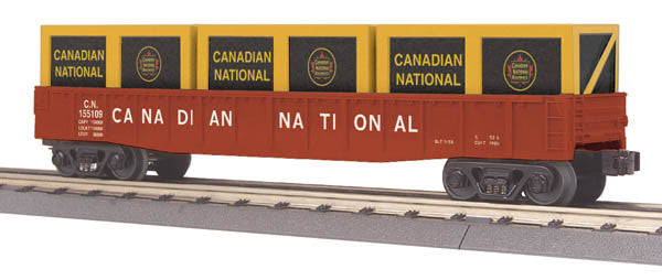 "MTH 30-72157 - Gondola Car ""Canadian National"" w/ Crates"