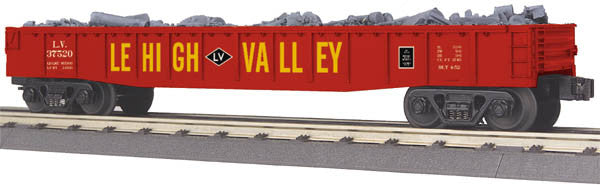 "MTH 30-72159 - Gondola Car ""Lehigh Valley"" w/ Junk Load"