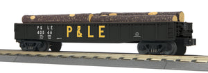 "MTH 30-72180 - Gondola Car ""Pittsburgh & Lake Erie"" w/ Log Load"