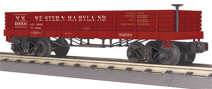 MTH 30-72201 Western Maryland Gondola Car (19th Century)