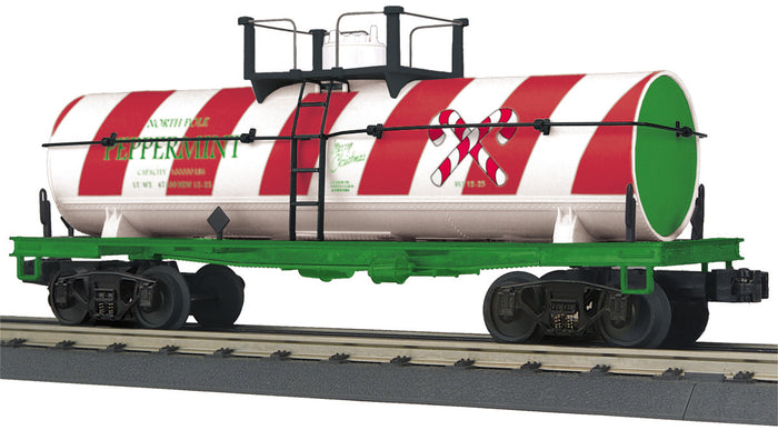 "MTH 30-73536 - Smoking Tank Car ""Christmas"""