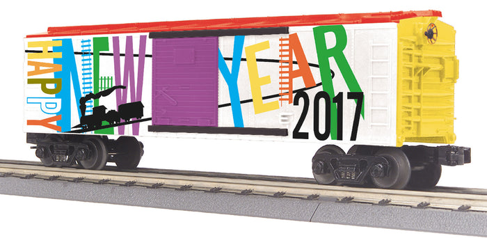 "MTH 30-74844 - Box Car ""Happy New Year"""