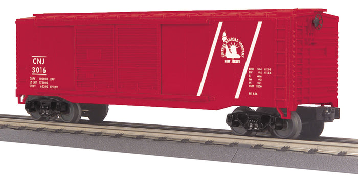 "MTH 30-74861 - 40' Double Door Box Car ""Jersey Central"""