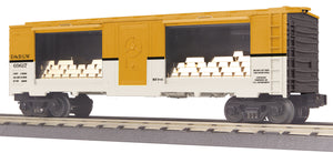 "MTH 30-74896 - 40' Window Mint Box Car ""Denver & Rio Grande"" w/ Gold"