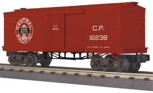 MTH 30-74956 Central Pacific 34' Box Car (19th Century)