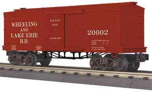 MTH 30-74957 Wheeling & Lake Erie 34' Box Car (19th Century)